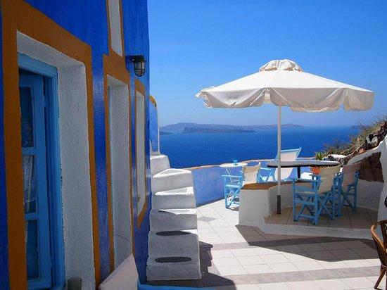Aegeas Houses: terrasse commune
