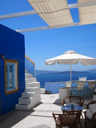 Aegeas Houses: vue de la réception