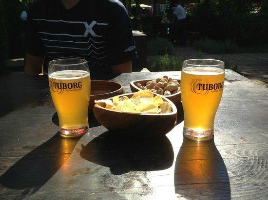 Alkoclar Exclusive Kemer : Beer garden