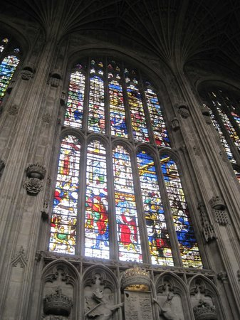 King's College Chapel : More stained glass impressiveness