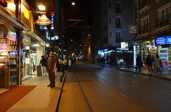Hotel Ilkay : Hudavendigar Street