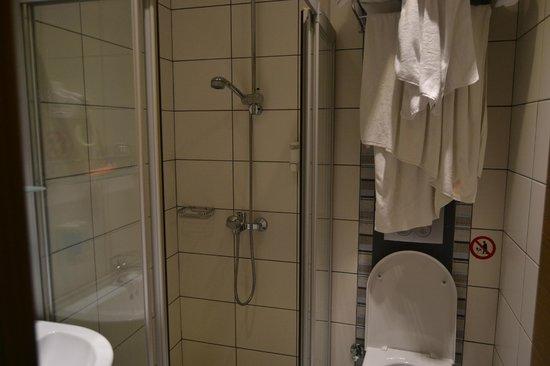Hotel Ilkay: ванная