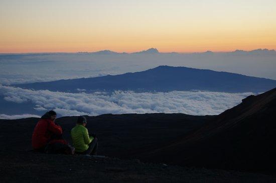 Mauna Kea Summit Adventures: Watching the sunset.