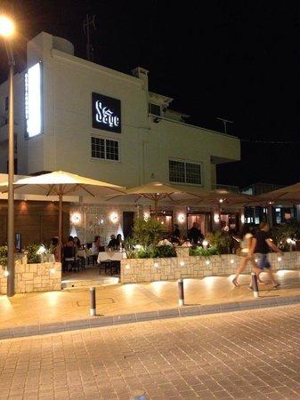 Sage Restaurant & Wine Bar : Outside!