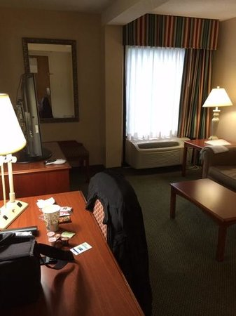 Holiday Inn Express Richmond Mechanicsville : Another view of living area from entrance door