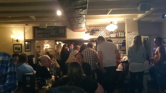 The Old Plough: Great night at the plough
