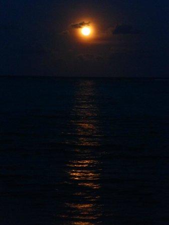 Nah Uxibal Villa and Casitas: Moonrise on Soliman Bay