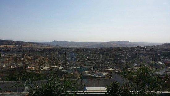 Riad Braya : Vu sur la médina depuis la terrasse!!