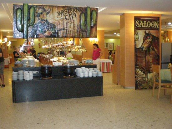 MedPlaya Hotel Calypso : тематический(ковбойский)ужин