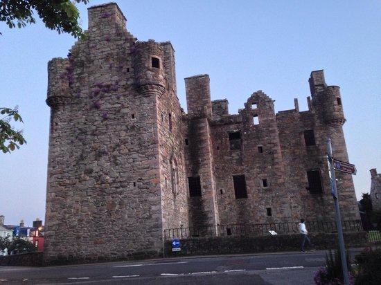 MacLellan's Castle: 2014 in the evening