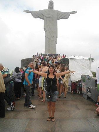 Tulip Inn Rio Copacabana: Cristo e EU