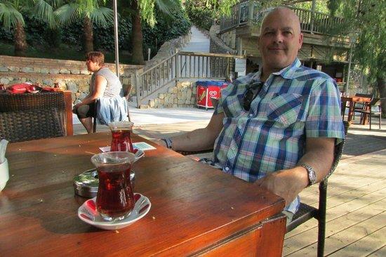 Club Blue Dreams : tea garden