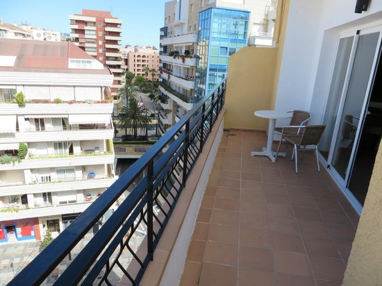 Hotel Lima Marbella: Balkon