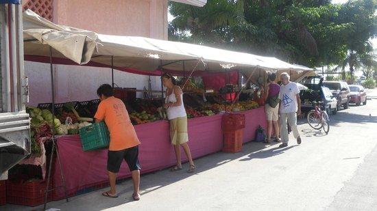 Hotel Hacienda Morelos: Wednesday market
