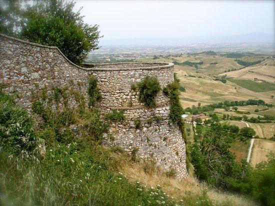 Торрита-ди-Сиена, Италия: Montefollonico vista panoramica