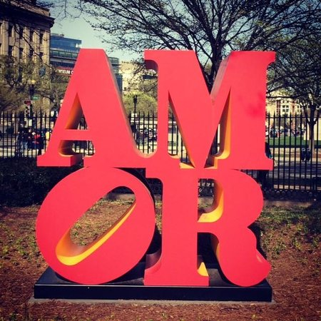 National Gallery of Art - Sculpture Garden: Robert Indiana's Amor