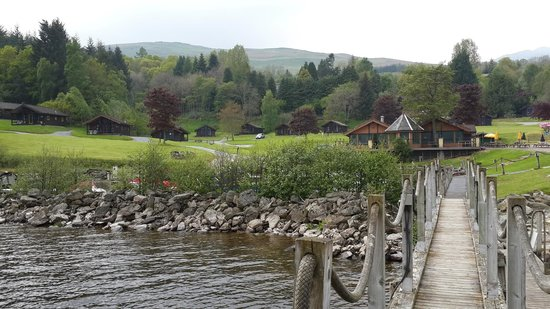 Loch Tay Highland Lodges: A serene view