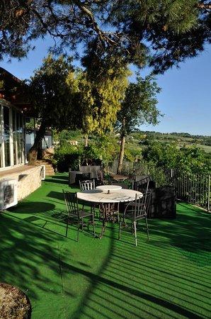 Agriturismo La Casella: La veranda