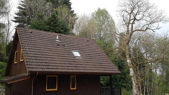 Loch Tay Highland Lodges: The bogger cottages housing 8 people