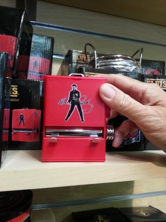 Graceland: Elvis toothpick dispenser about $25