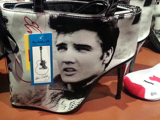 Graceland: Elvis High-Heel Shoe Purse