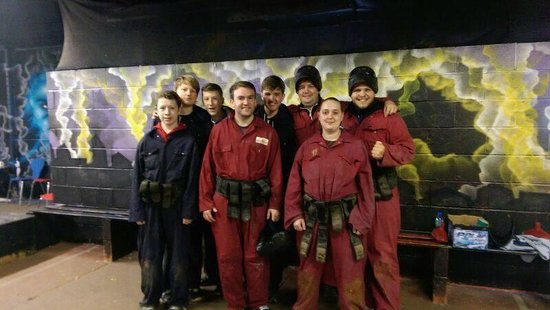 Asylum Paintball Stockport: Top top day out!!