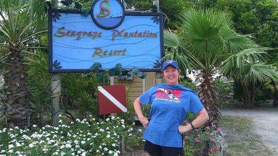 Seagrape Plantation Resort: I earned my scuba diver certificate.
