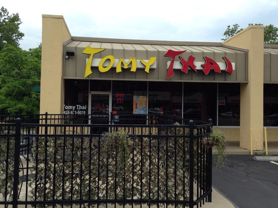 Tomy Thai: Outside front view