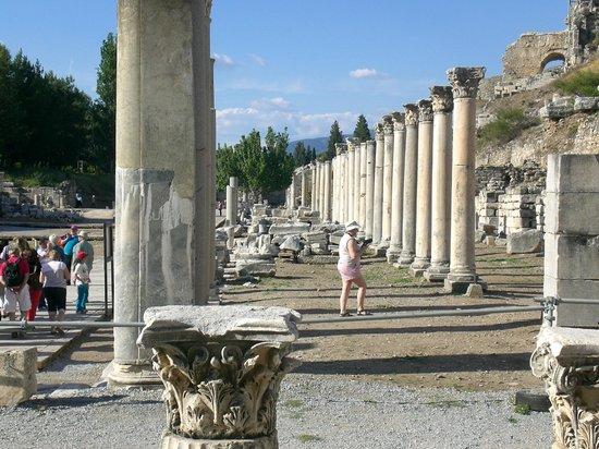 Ruinen von Ephesos: This was a covered Roman shopping mall