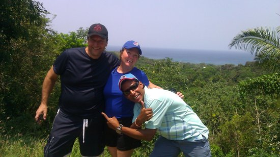 Seagrape Plantation Resort: Cleve, Bill and I on the island tour