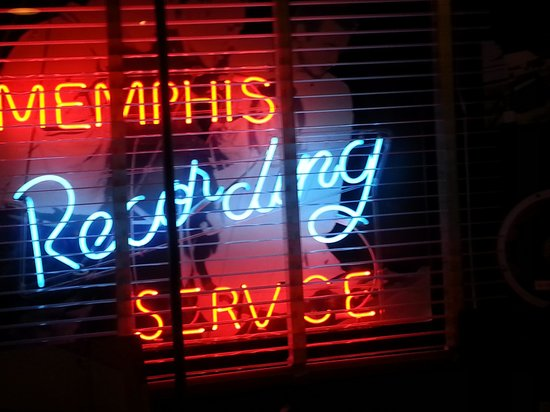 Sun Studio: Recording Service neon sign