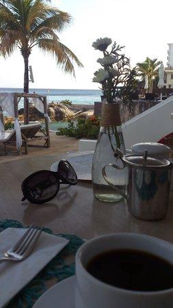 Hotel B Cozumel: Empezando bien el día