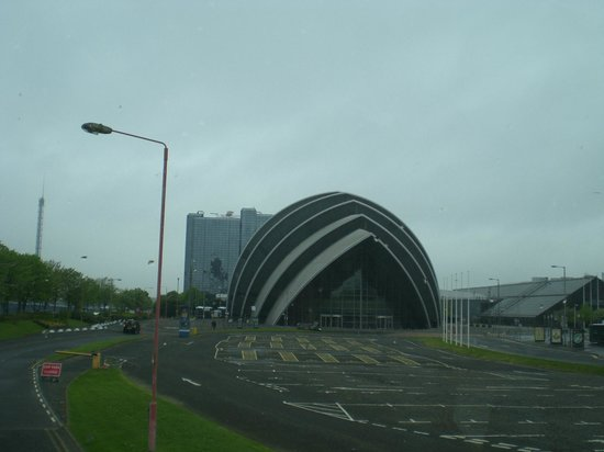 Scottish Exhibition & Conference Ctr, near the Clyde Arc Bridge