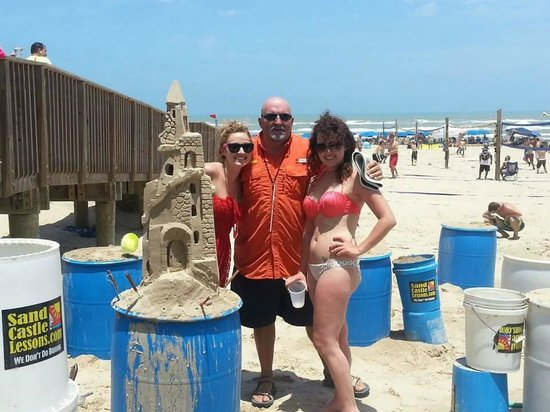 Sandcastle Lessons: This one was 95% Andy