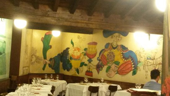 Trattoria Bagutta: restaurant