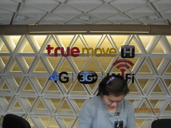 Hip Bangkok: Truemove Sim at airport in advance contract is recommended than the hotel chargeable WiFi