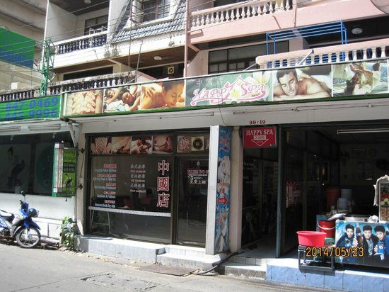 Hip Bangkok: Massage shops located near by the hotel