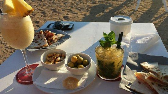 Beach Club 10.7: Ottimo aperitivo