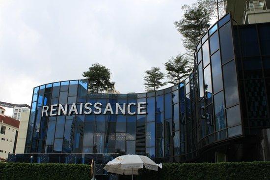 Renaissance Bangkok Ratchaprasong Hotel: ホテルエントランス