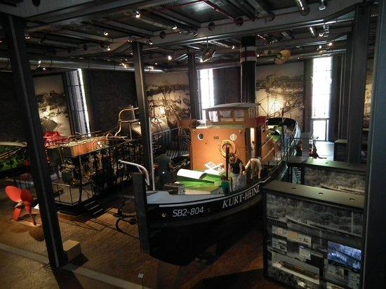 Deutsches Technikmuseum Berlin: Морская коллекция