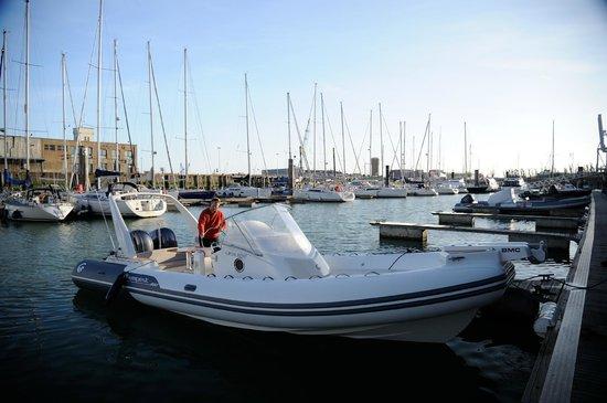 Knokke Boat Zeebrugge