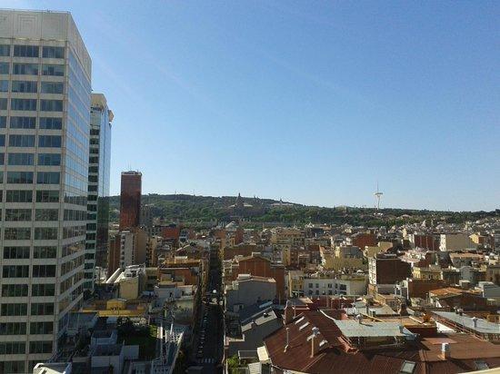 Expo Hotel Barcelona : Vue de la terrasse