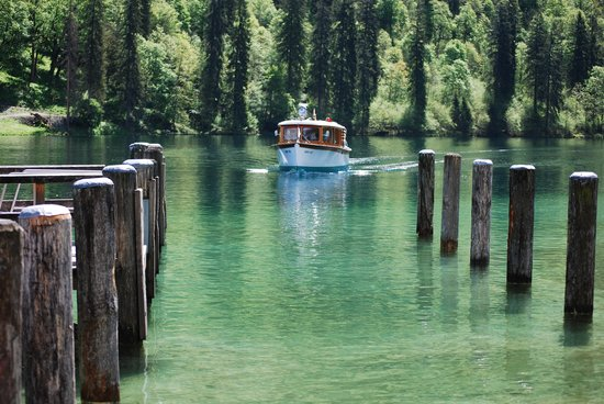 Königssee : The boat ride