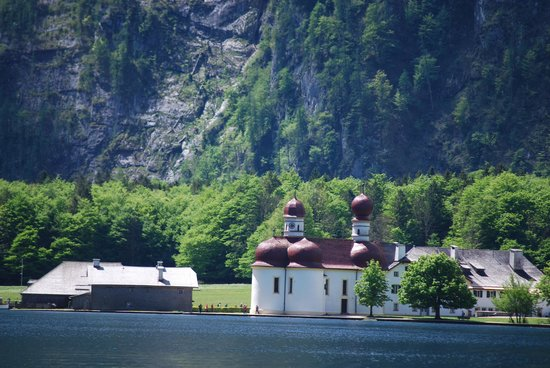 Königssee : The place we stopped at.Built in 1187