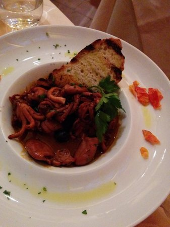 Parione: Octopus in Soup
