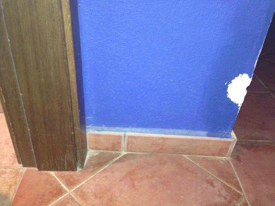 Hesperia Lanzarote: entrance to my room