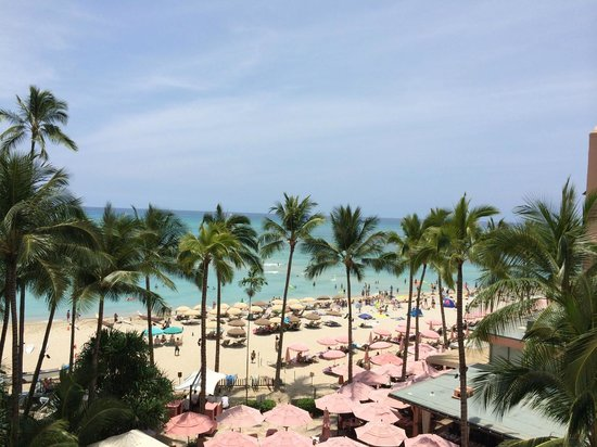 The Royal Hawaiian, a Luxury Collection Resort: Tower Ocean room view