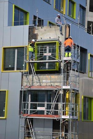 Appart'City Paris Bobigny: Как строят соседний отель