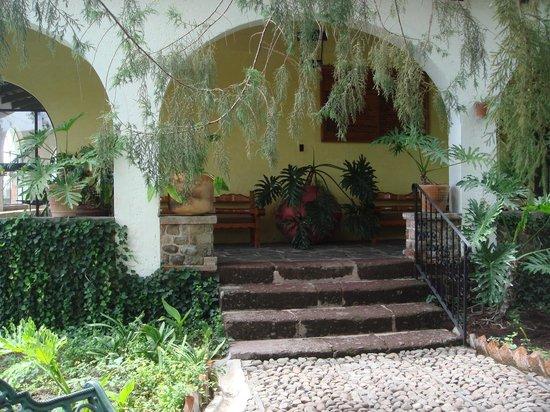 Rancho Hotel El Atascadero: Patio de la Monja