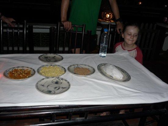 Yen Duc Village Tour: Floating rice cake ingredients